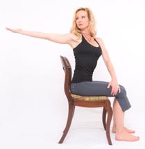 posiciones Yoga  oficina
