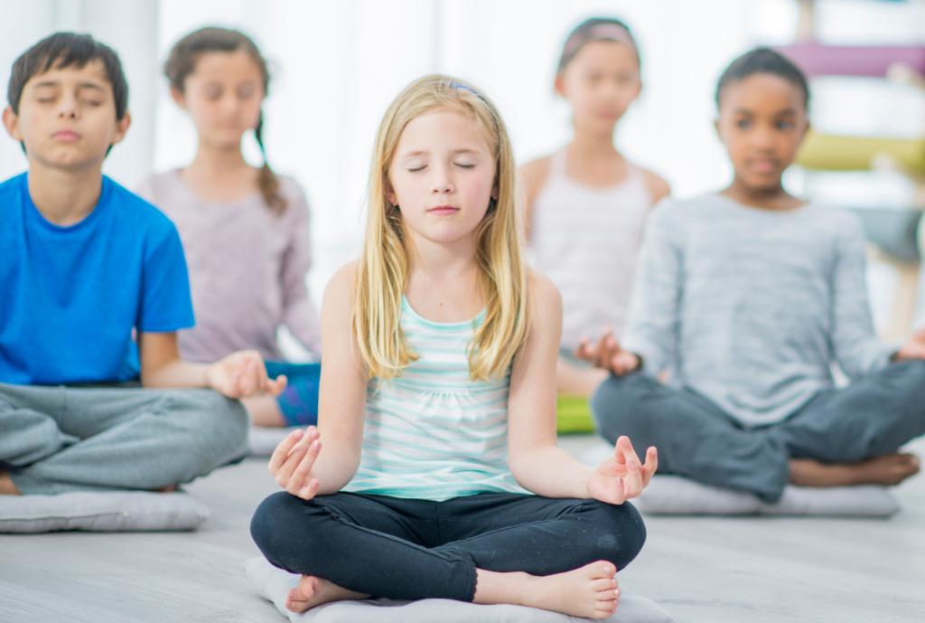 Meditación en niños
